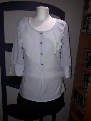 Bluse Top Shirt T-Shirt Vila by Vero Moda Gr. XS 34 S 36 3/4 Arm Tunika Neu