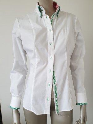 alm sach Tradycyjna bluzka biały