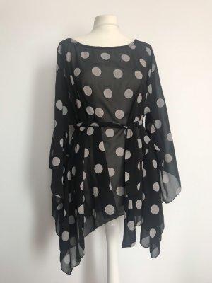 Assuili Kimono Blouse black-natural white