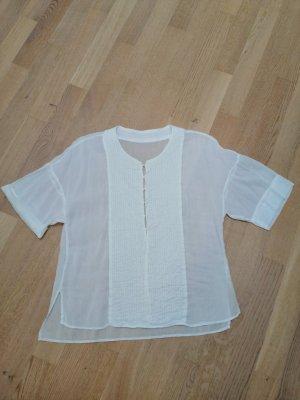 Bluse: Transparent und Asia-Style