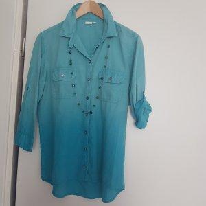 Boule Long Sleeve Blouse turquoise-cadet blue