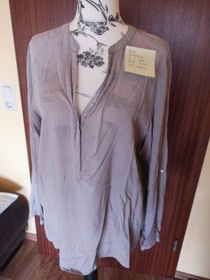 Anastacia Blusa a tunica grigio chiaro