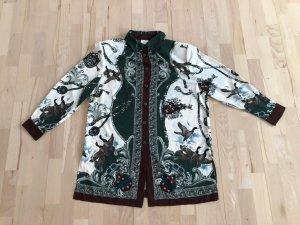 Bluse Tunika Hemd Gr. 46 XL mehrfarbig