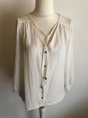 H&M Slip-over Blouse white-gold-colored