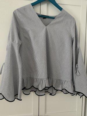 Bluse Tunika  mit Rüschen Gr 40 42 XL