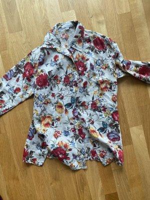 Bluse Tunika Shirt Hemd M 38 Leine