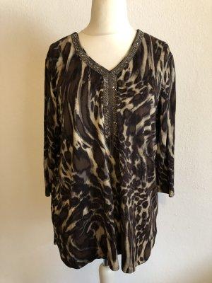 Bluse Tunika Shirt locker Longshirt Gr. 46