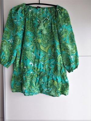 Ann Christine Tunic Blouse multicolored cotton