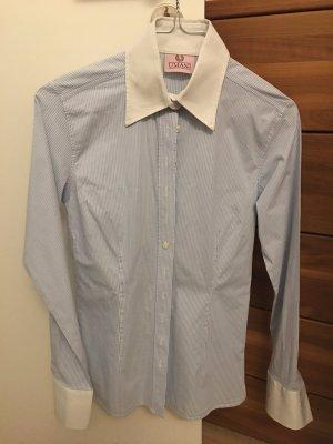 Umani Camicia blusa bianco-azzurro