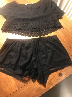 Zara Lace Blouse black
