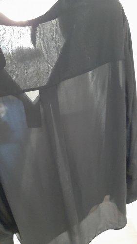 Imperial Blusa trasparente nero