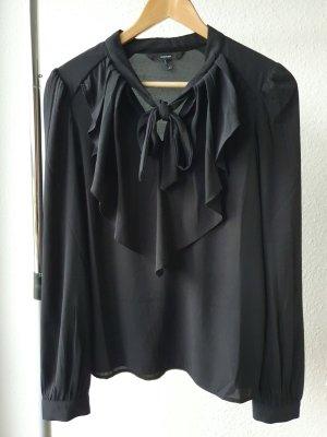 Vero Moda Bluzka z falbankami czarny