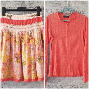 Vero Moda Blouse topje zalm-roze