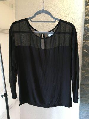 Vero Moda Bluzka o kroju koszulki czarny