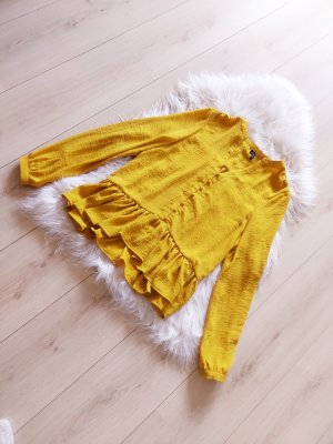 Bluse vero moda senfgelb neu