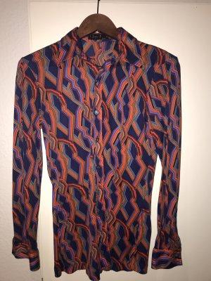 Bluse Vintage 70er Jaques Léonard Paris