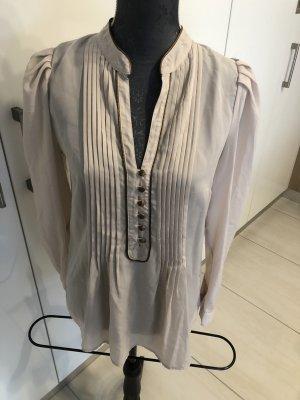3 Suisses Blusa de manga larga crema