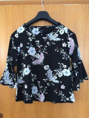 Amisu Kimono Blouse black