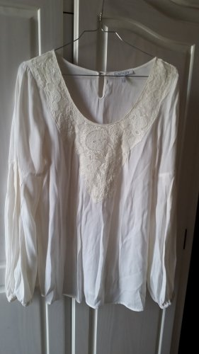 Apart Long Sleeve Blouse natural white