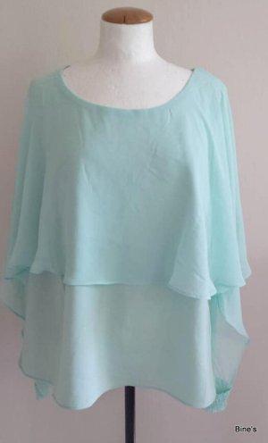 Ashley Brooke Short Sleeved Blouse lime-green-mint
