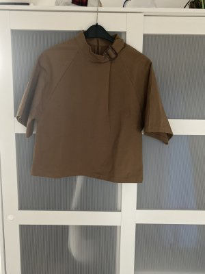 Asos Oversized Blouse bronze-colored