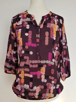 Betty & Co Tie-neck Blouse multicolored