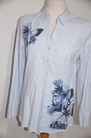 Bonita Shirt Blouse light blue cotton