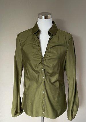 Boss Koszulowa bluzka oliwkowy