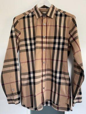 Burberry Long Sleeve Blouse beige-black
