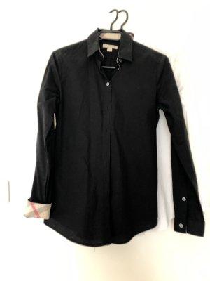 Burberry Camicia a maniche lunghe nero-marrone