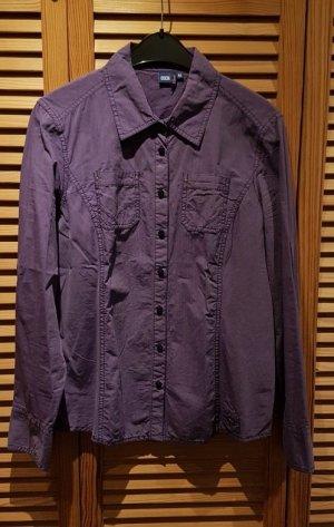 Bluse von Cecil Gr. M 38 40 Lila fein gestreift wie neu!