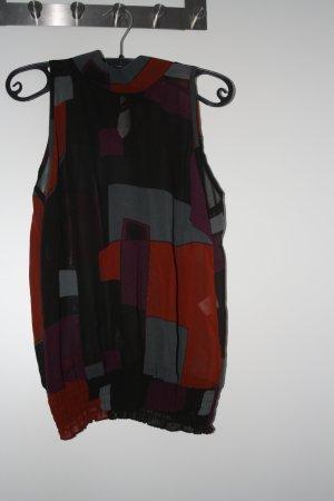 Chilli Blusa senza maniche multicolore Poliammide