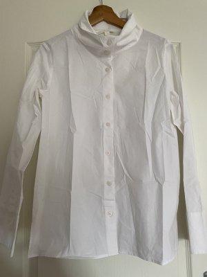 COS Bluzka z długim rękawem biały