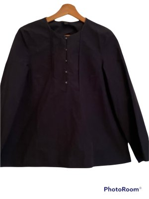 COS Blusa de manga larga azul oscuro