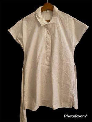 COS Blusa de manga corta blanco