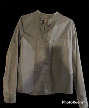 COS Blusa de manga larga negro