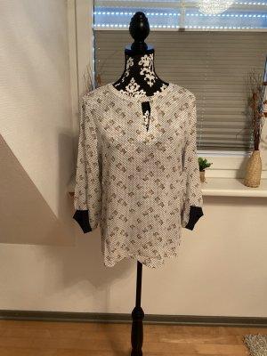 Bluse von edc Esprit in Größe XL in Weiß/Bunt