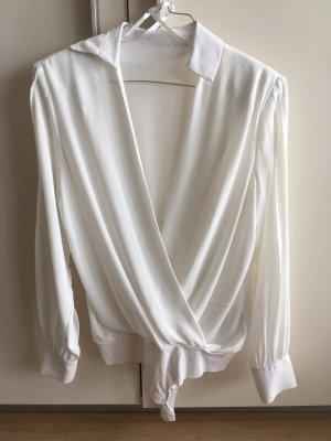 Elisabeth Franchi Body koszulowe biały