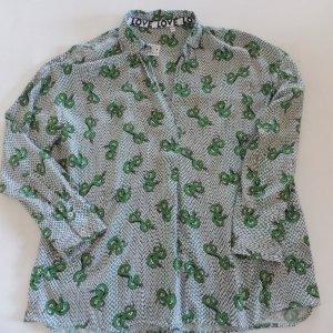 Bluse von Emily van den Bergh  Multicolor Grün