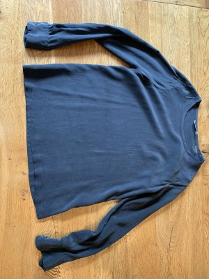 Equipment Silk Blouse anthracite