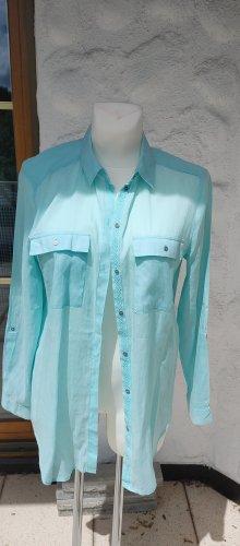 Bluse von Esprit Gr. 40 mintgrün