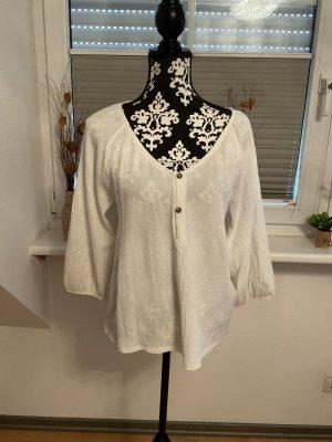 Bluse von Esprit in Größe L in Weiß/Wollweiß
