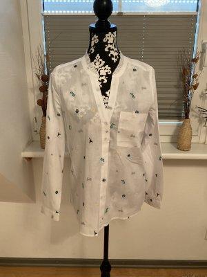 Bluse von Esprit in Größe S in Weiß/Bunt