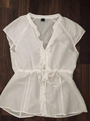 Bluse von ESPRIT , /Weiß , gr.38/M, wie neu