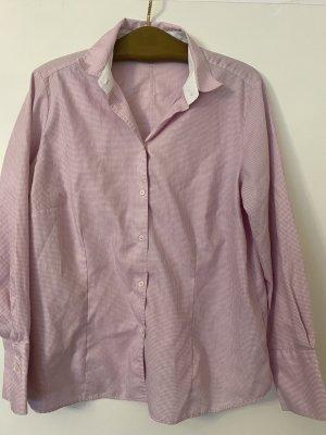 Eterna Camicia blusa bianco-rosa chiaro