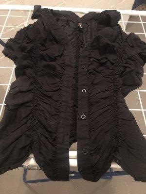 Fishbone Cols de blouses noir