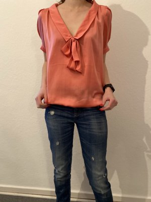 Fornarina Tie-neck Blouse multicolored polyester