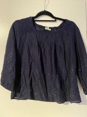 Gap Blouse Shirt dark blue