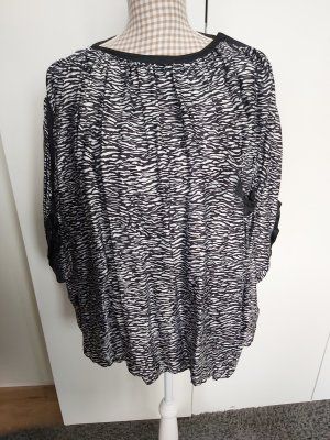 Bluse von Gianni Versace schwarz/weiss Größe 44
