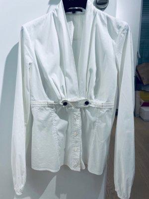 Bluse von Gucci, weiss, Größe IT38